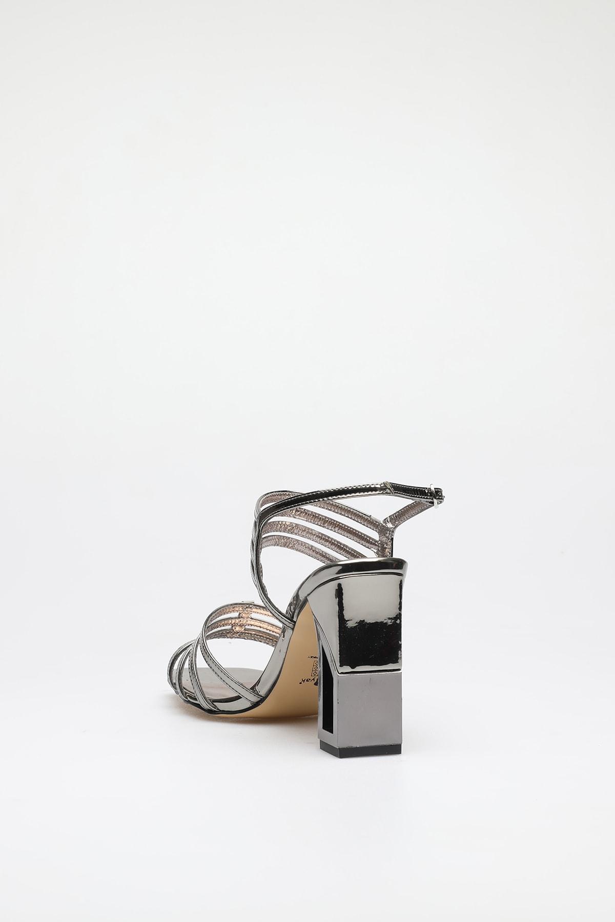 ALTINAYAK Platin Kadın Abiye Ayakkabı 339.002001 3