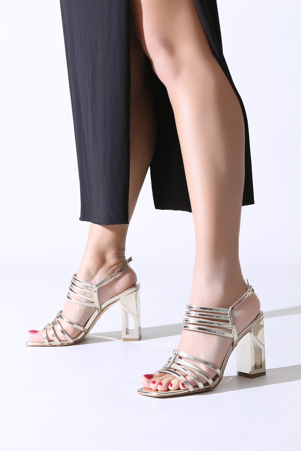 ALTINAYAK Altın Kadın Abiye Ayakkabı 339.002001 0