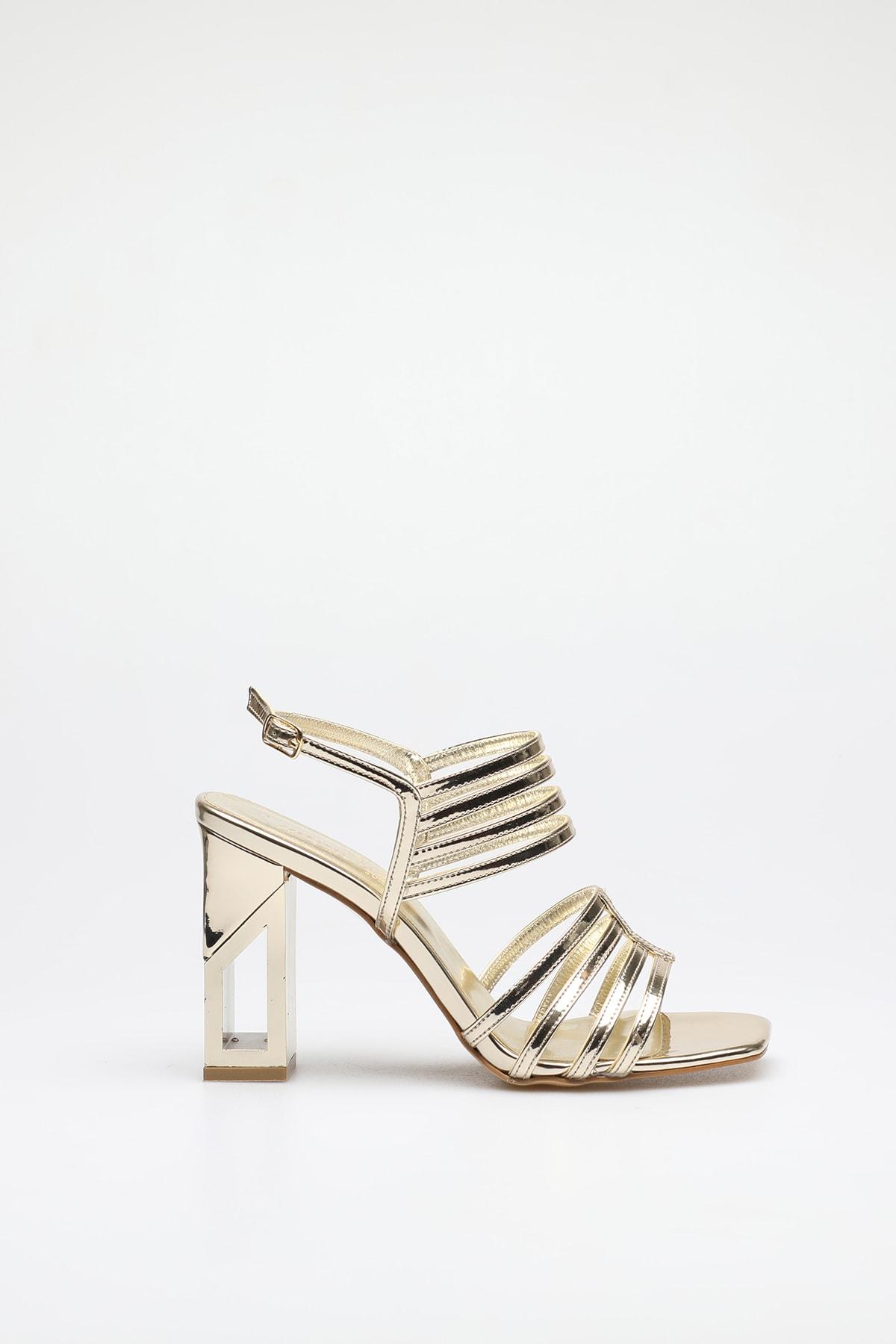 ALTINAYAK Altın Kadın Abiye Ayakkabı 339.002001 1