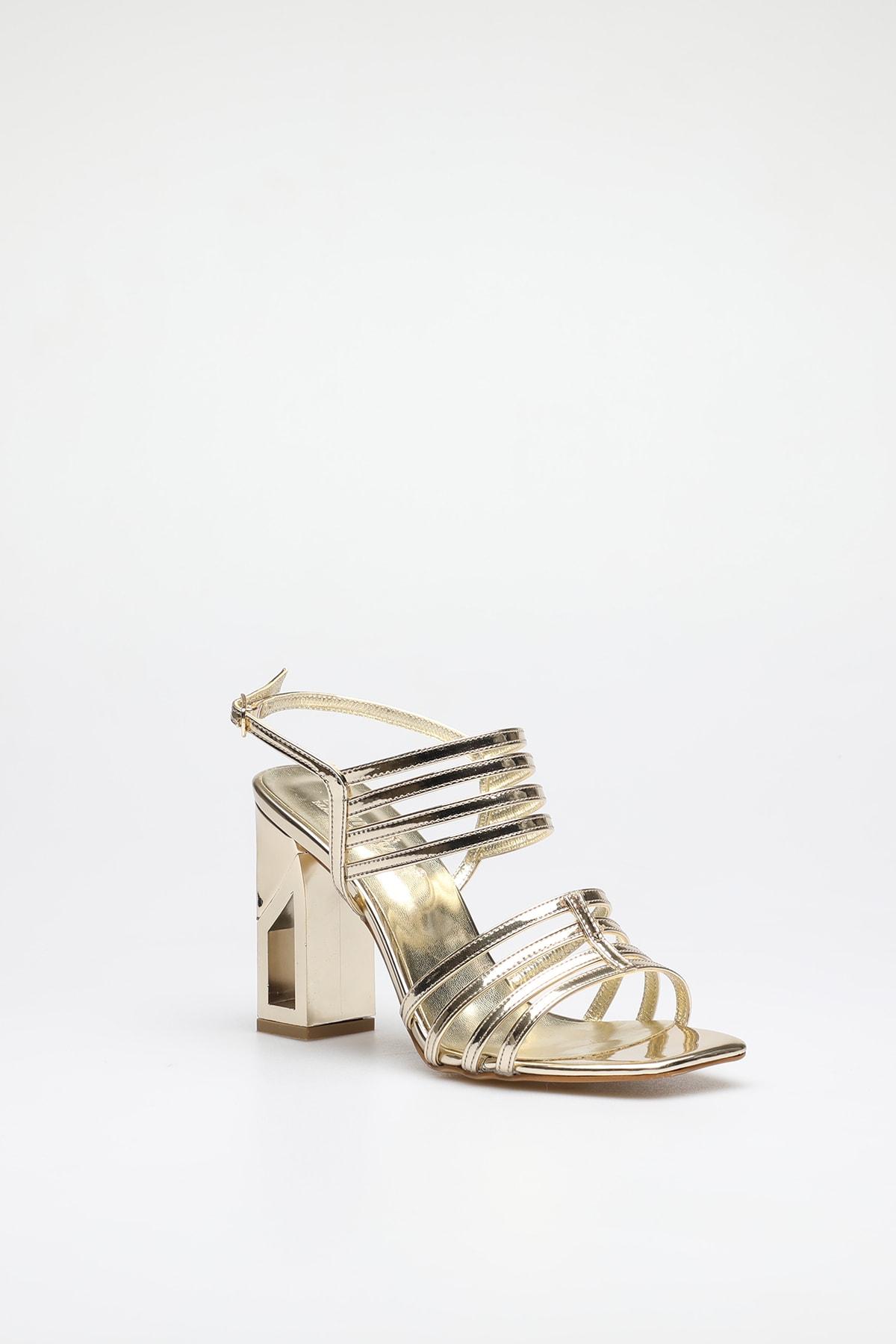 ALTINAYAK Altın Kadın Abiye Ayakkabı 339.002001 2