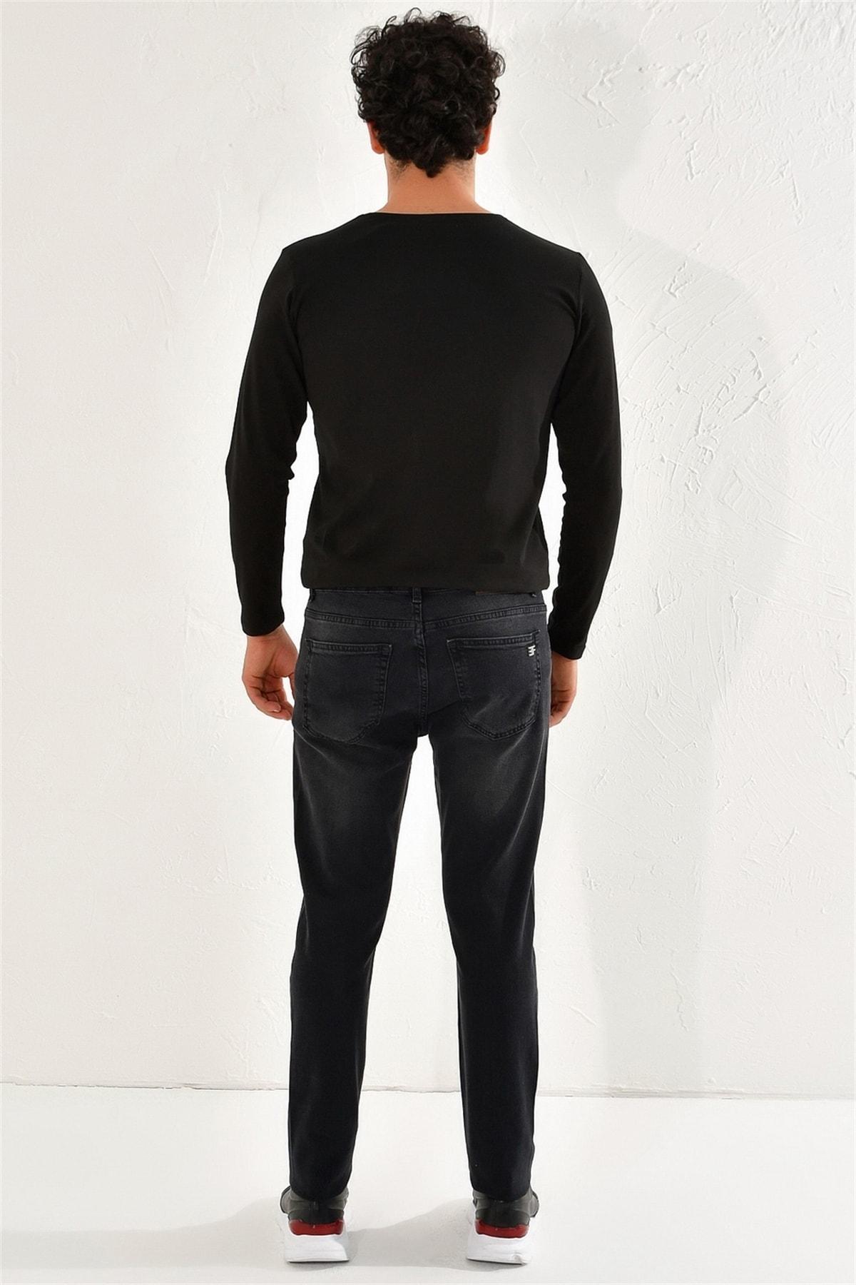 Efor 051 Slim Fit Antrasit Jean Pantolon