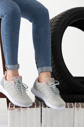 MP Gri Kadın Sneaker MODAELYSA0496 0