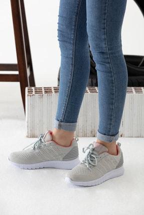 MP Gri Kadın Sneaker MODAELYSA0496 2