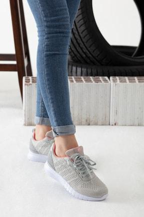 MP Gri Kadın Sneaker MODAELYSA0496 3