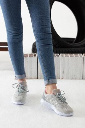 MP Gri Kadın Sneaker MODAELYSA0496 4