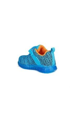 Vicco 313.b20y.104 Bebe Işıklı Mavi Çocuk Spor Ayakkabı 2