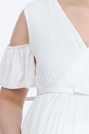 LYN MAMA Hamile Starlight Elbise - Beyaz 1
