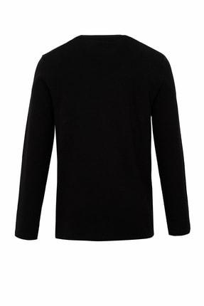 Defacto Basic Slim Fit Uzun Kol Bisiklet Yaka Tişört 1