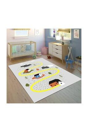 Bebişim Halı Yol  150x230 Çocuk Odası Halısı Bh2352 0