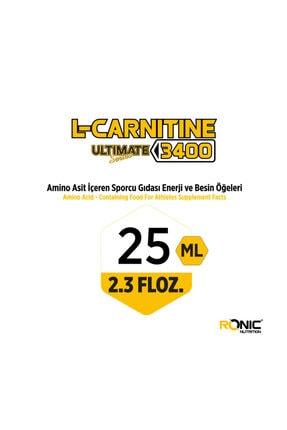RONIC Nutrition L-Carnitine Ultimate Series 3400 Mg 30 Ampul Yağ Yakıcı +3 Adet Hediyeli 2