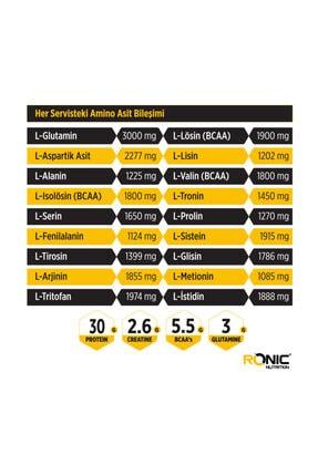 Ronic Nutrition Whey İsolate Protein Tozu Çilek Aromalı 2270 Gr + 3 Adet Hediyeli 3