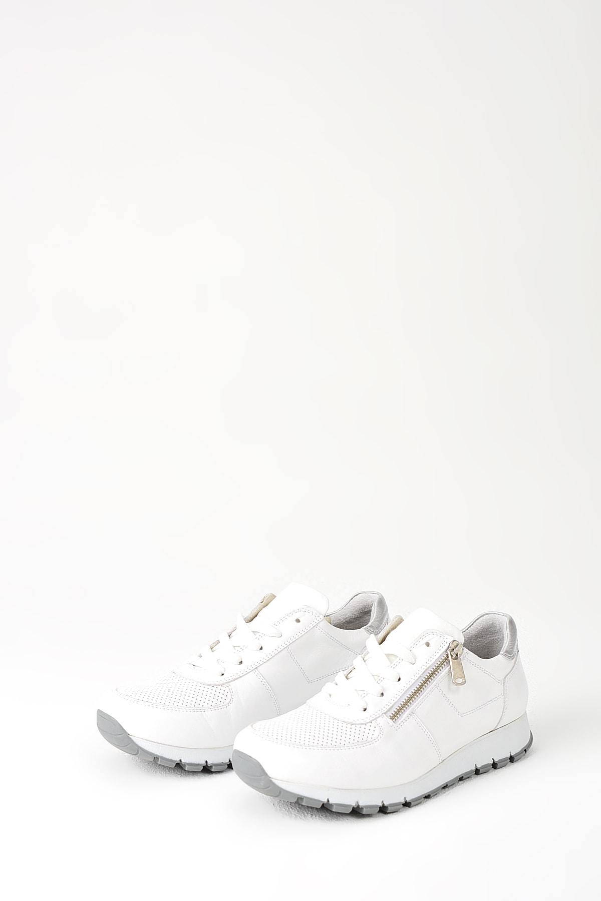 Uniquer Hakiki Deri Beyaz Kadın Ayakkabı 10157U 678 3