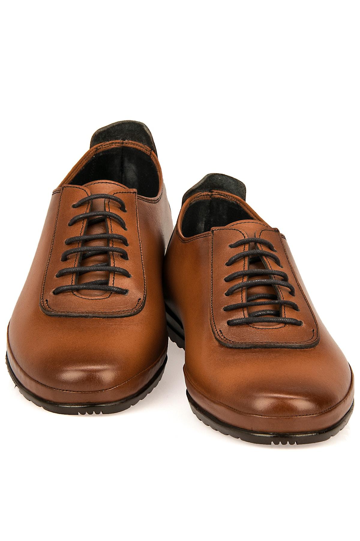 Ziya Hakiki Deri Taba Erkek Ayakkabı 101415 485046 2