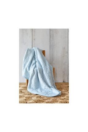 Karaca Home Candy Mavi Bebek Embosy Battaniye 1