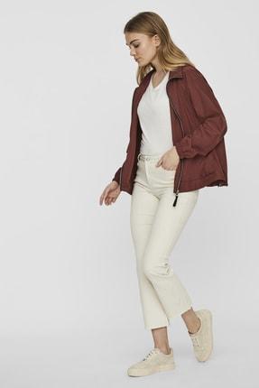 Vero Moda Kadın Bordo Çanta Olabilen Mevsimlik İnce Mont 10222923 VMHARLEM 2