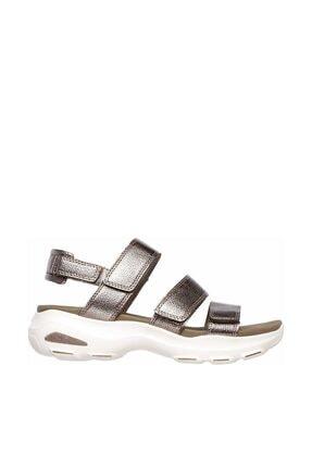 Skechers D'LITES ULTRA - FAB LIFE Kadın Gri Sandalet 0