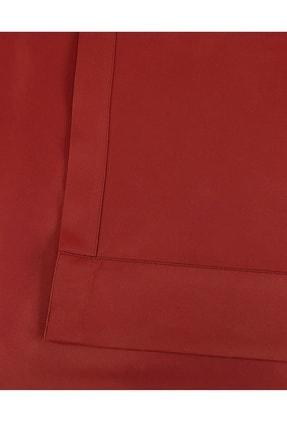 Evdepo Home Karartma Blackout Pilesiz Fon Perde - Kırmızı 2
