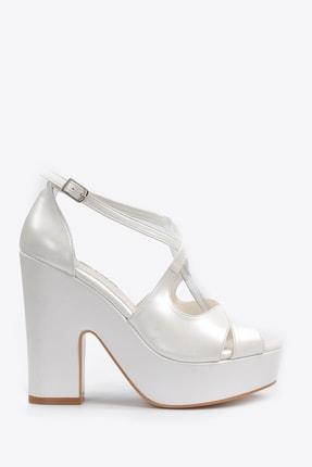 Vizon Ayakkabı Kadın  Sedef Klasik Topuklu Ayakkabı VZN20-045Y 1