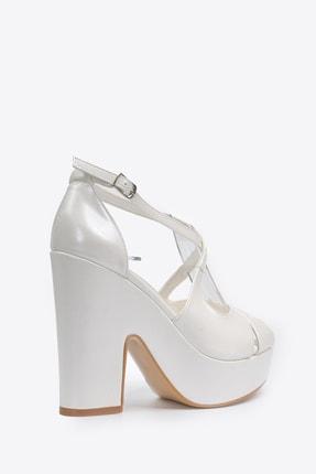 Vizon Ayakkabı Kadın  Sedef Klasik Topuklu Ayakkabı VZN20-045Y 3