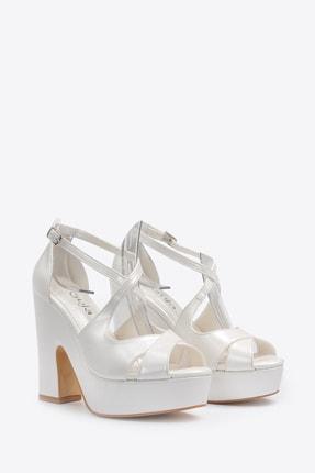 Vizon Ayakkabı Kadın  Sedef Klasik Topuklu Ayakkabı VZN20-045Y 4