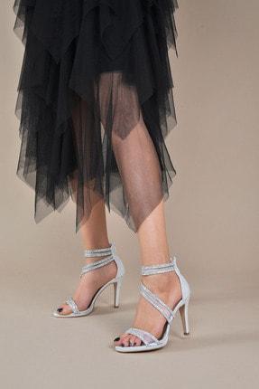 تصویر از Kadın  Gümüş-Slt Klasik Topuklu Ayakkabı VZN20-036Y