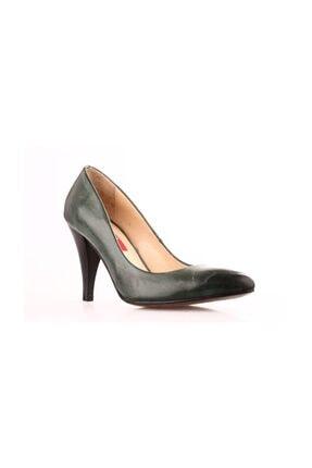 Dgn Yeşil Kadın Klasik Topuklu Ayakkabı 199-148 0