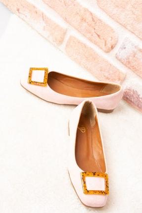 Fox Shoes Pudra/Taba Kadın Babet H726452002 2