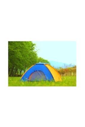 Onetick 3 Kişilik Renkli Dayanıklı Kamp Çadırı 200x150x110 2
