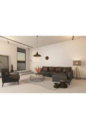 hedefsan Kendinden Yapışkanlı Duvar Paneli 3d Tuğla Beyaz 4