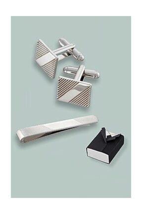 Avon Asher Kol Düğmesi Ve Kravat Iğnesi Seti 1