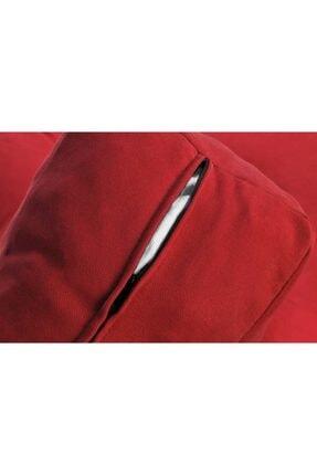 Dekoro Naz İç Mekan Palet Uzun Sırt Minderi Kırmızı 1