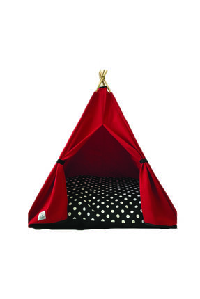 Teepee House Yataklı Köpek Çadırı (70-70 cm) 0