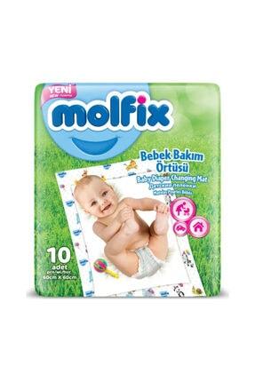Molfix Bebek Bakım Örtüsü 10 Adet 60x60 Cm 0