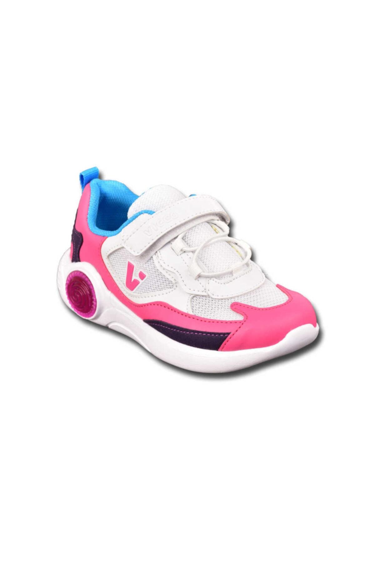 Kadın Beyaz Vicco Çocuk Kız Spor Ayakkabı 346 214-20y