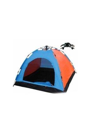GENX Otomatik Kurulan 4 Kişilik Kamp Çadırı 0