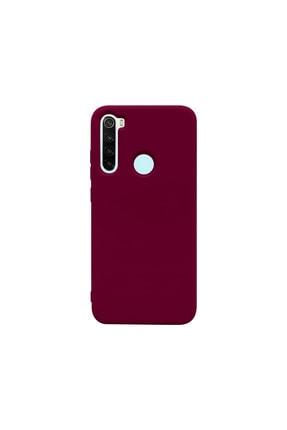 casemarkt Xiaomi Redmi Note 8 Lansman Bordo Silikon Telefon Kılıfı Mikro Fiber Iç Yüzey 0