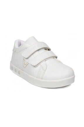 Vicco Kız Çoçuk Beyaz Oyo Işıklı Spor Ayakkabı 0