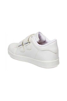 Vicco Kız Çoçuk Beyaz Oyo Işıklı Spor Ayakkabı 2