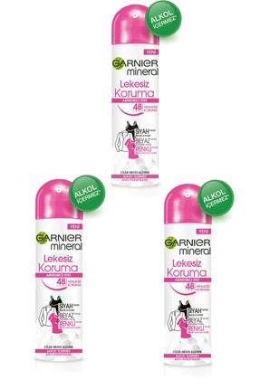 Garnier 3 Lü Set Anti - Perspirant Sprey Deodorant - Lekesiz Koruma 150 ml 3600541928855 0