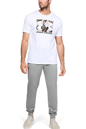 Under Armour Erkek Spor T-Shirt - UA Camo Boxed Logo Ss - 1351616-101 3