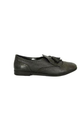 Mammamia 3820b Kadın Günlük Hakiki Deri Ayakkabı 0