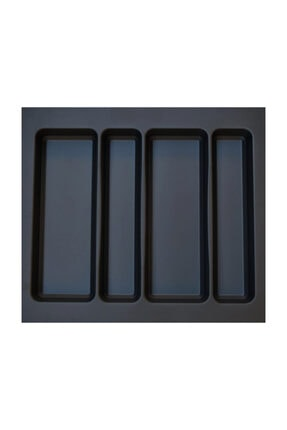 Arwino Antrasit Koyu Gri Lüx 55 x 49 cm Çekmece Içi Kepçelik - 50 x40 cm' Ye Kadar Kısalır 0