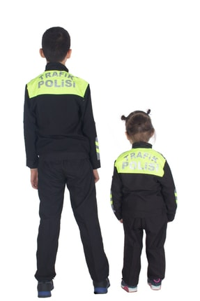 Sevimli Kids Şahin Motorize Trafik Polis Kostümü Çocuk Kıyafeti 3