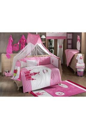 60x120 Uyku Seti Little Princess Beşik Seti Pamuklu, Fermuarlı, Mobilya Beşik Içi Koruması Kidboo 60x120 Uyku Seti Little Princess