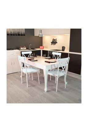 Modilayn Lidya-4-Tonet-Lükens-Ayaklı-Masa-Sandalye-Takımı 0