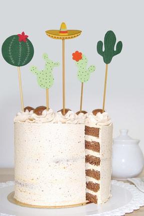 MOONMADE Meksika El Yapımı Kağıt Pasta Süsü 0