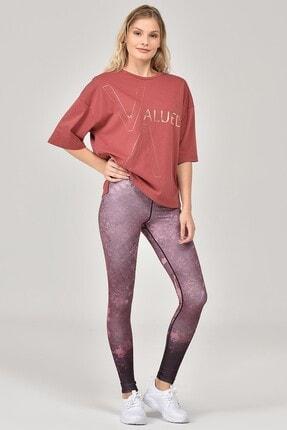 bilcee Kahverengi Kadın T-Shirt FW-1332 1