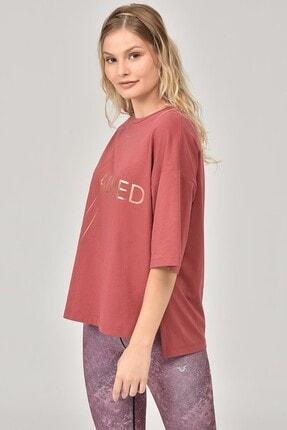 bilcee Kahverengi Kadın T-Shirt FW-1332 4
