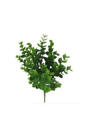 Nettenevime Yapay Çiçek Şimşir Demet Garnitür Yeşil Aradal Dekoratif Yapay Bitki 0