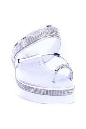 DGN Gümüş Kadın Terlik K231-1461 0